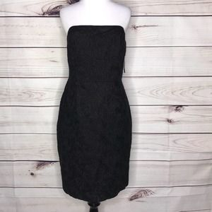 Lilly Pulitzer Black Evelyn Dress Texture NWT